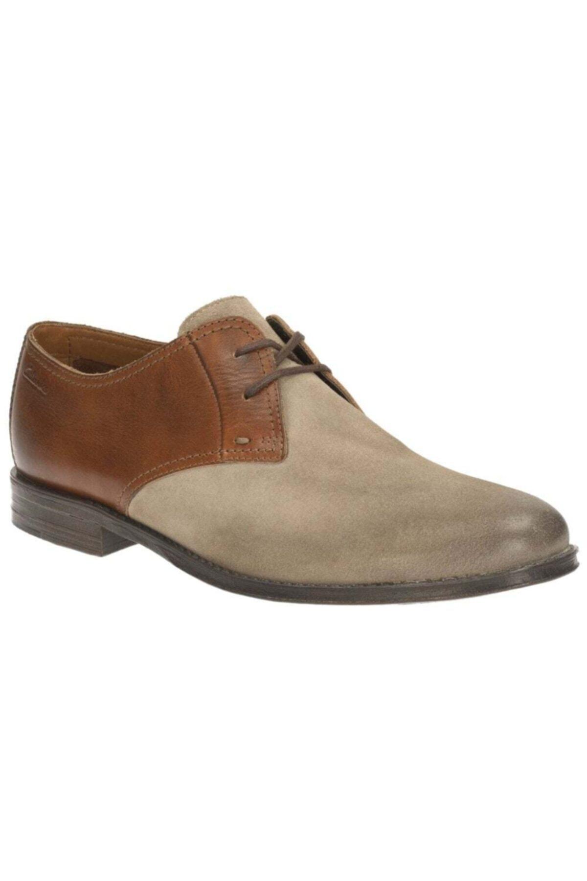 CLARKS Erkek  Kahverengi Bağcıklı Ayakkabı 1