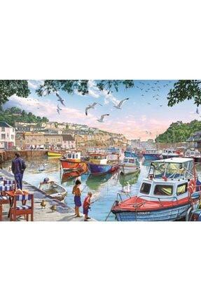 Art Puzzle Limandaki Küçük Balıkçılar 1000 Parça Puzzle