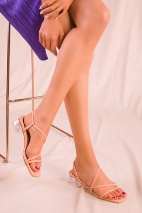 SOHO Pudra Kadın Klasik Topuklu Ayakkabı 15822