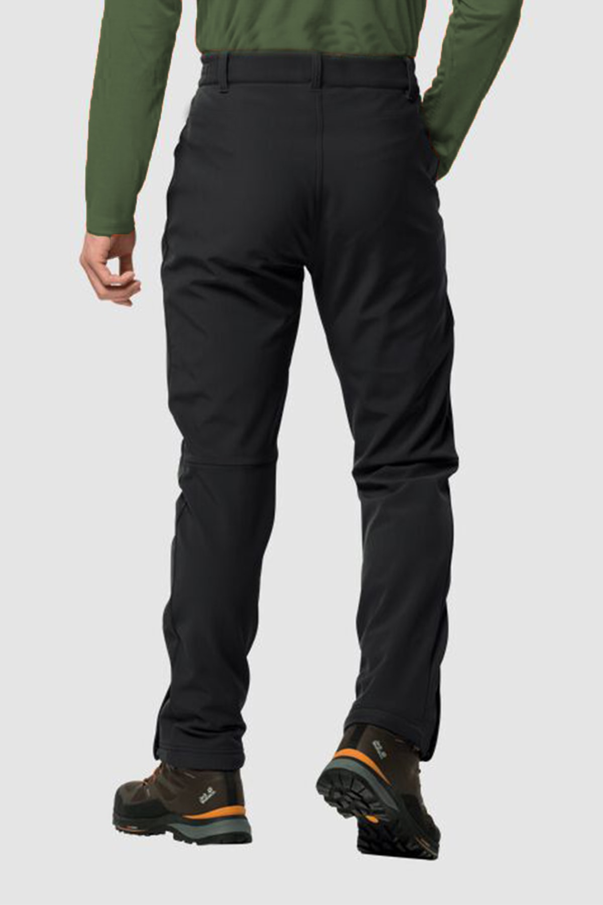 MACSYLEN Su Ve Rüzgar Geçirmez Içi Kürklü Outdoor Pantolon 2