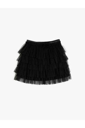 Koton Kids Kadın Siyah Etek
