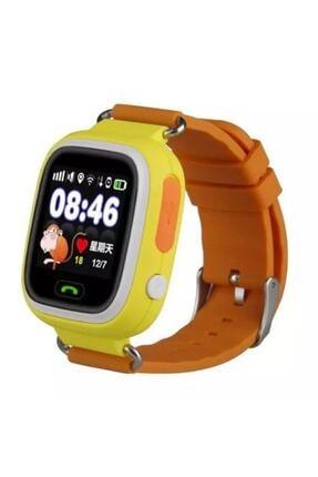 Piranha 9925 Sarı Gps Telefon Takip Özellikli Akıllı Çocuk Takip Saati 9925