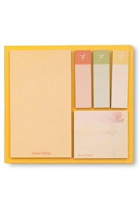 Victoria's Journals Sticker Yapışkanlı Not Kağıdı 12x12cm Morning Dew Yellow