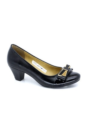 PUNTO 5844010 Z Topuklu Deri Bayan Ayakkabısı