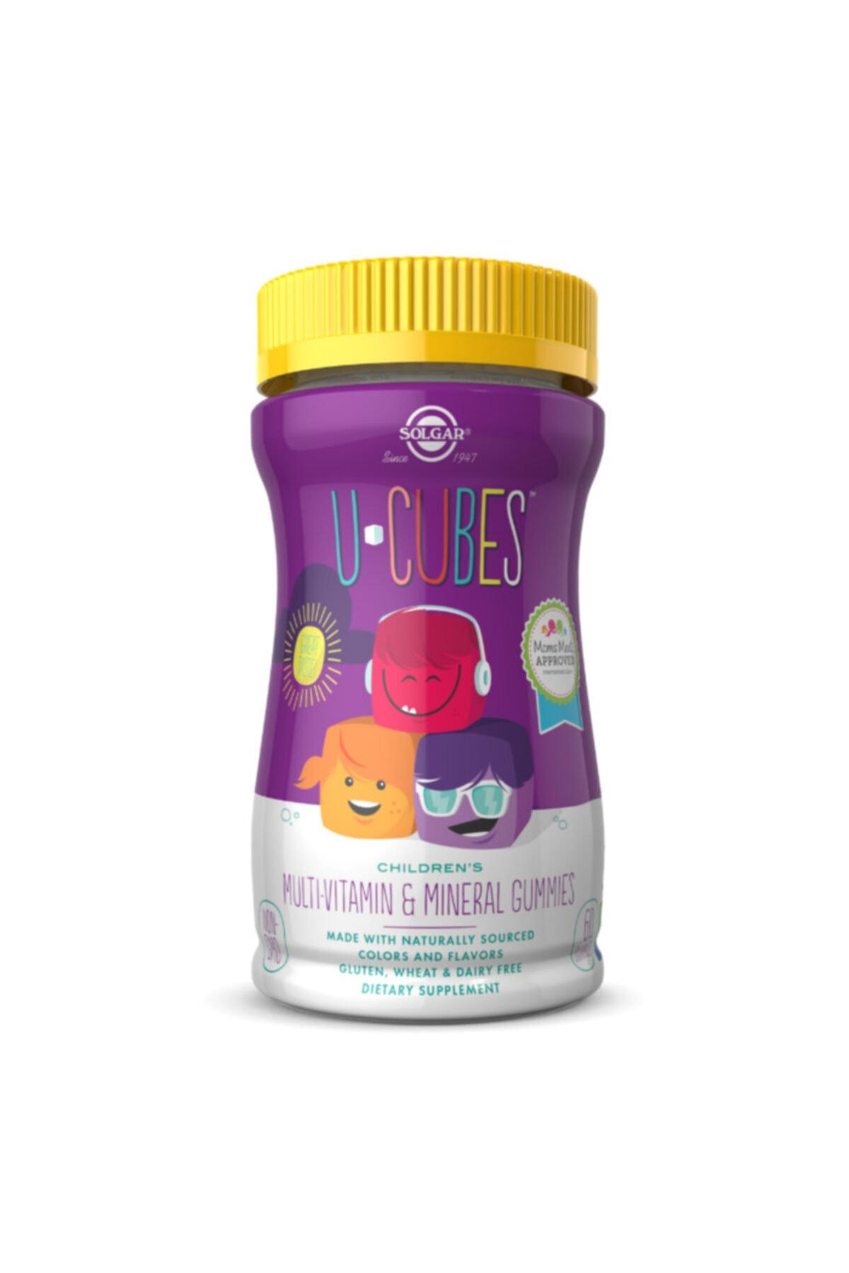 Solgar U-cubes Children's Multi-vitamin & Mineral 60 Gummies 1