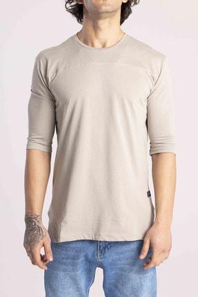 Catch Erkek Taş Yarım Kol Basic T-shirt Y-523