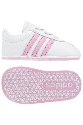adidas VL COURT 2.0 CRIB Pembe Kız Çocuk Sneaker Ayakkabı 100536380