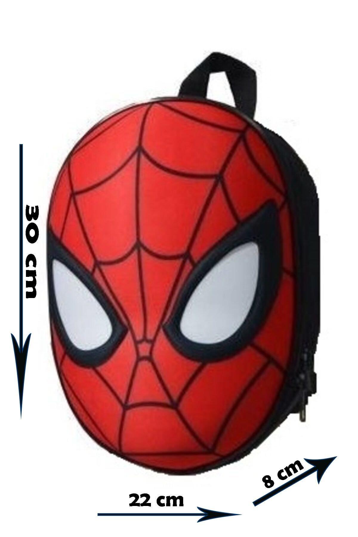 SPIDERMAN 3d Kabartmalı Anaokulu Kreş Ve Günlük Kullanım Çantası Örümcek Adam Sırt Çantası 2