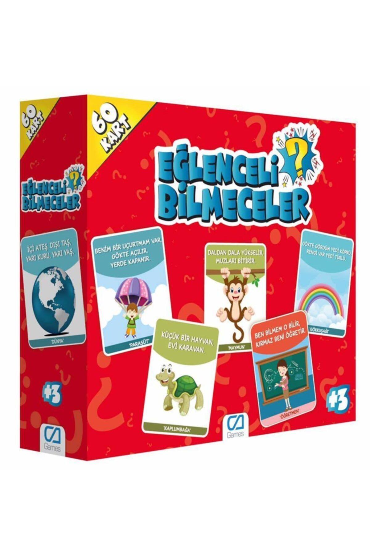 CA Games Eğlenceli Bilmeceler Eğitici Kartları Ca.5103 1