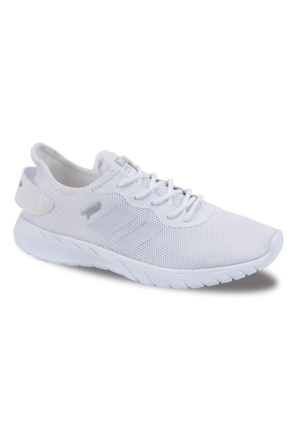 Jump Unisex Beyaz Casual Confort Günlük Spor Ayakkabısı 24853 1