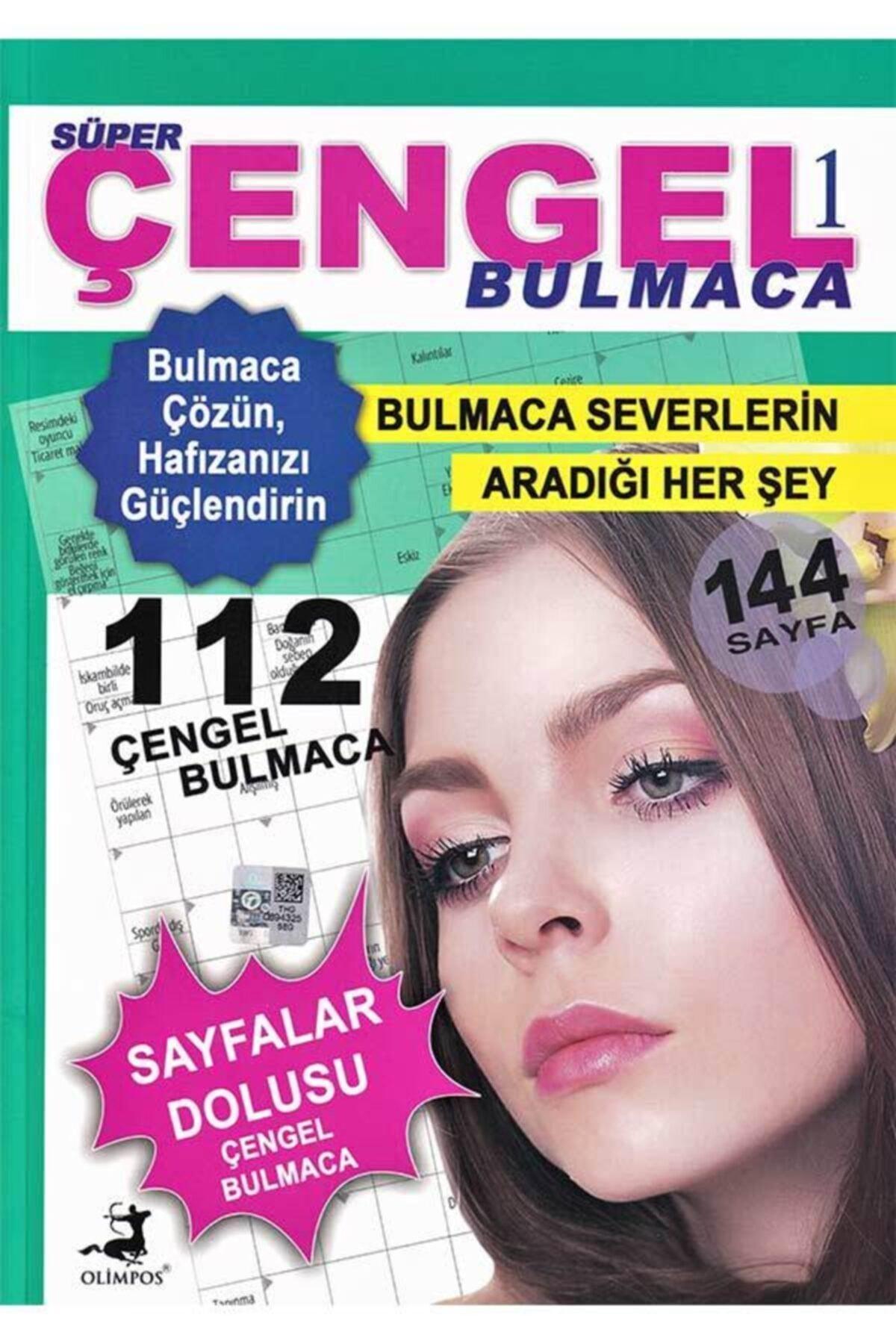 Olimpos Yayınları Süper Çengel Bulmaca 1 1