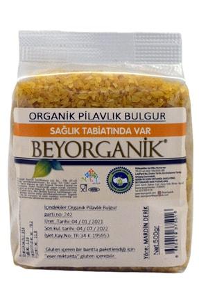 BEYORGANİK Organik Pilavlık Bulgur 500 gr