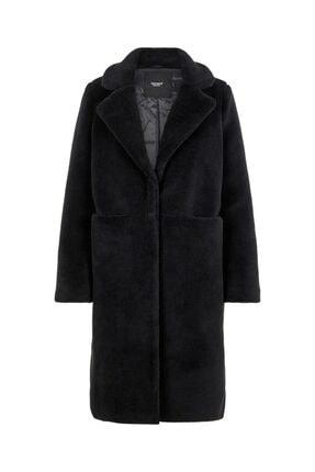 Vero Moda Kadın Siyah Vmholly Long Teddy Mont 10217014