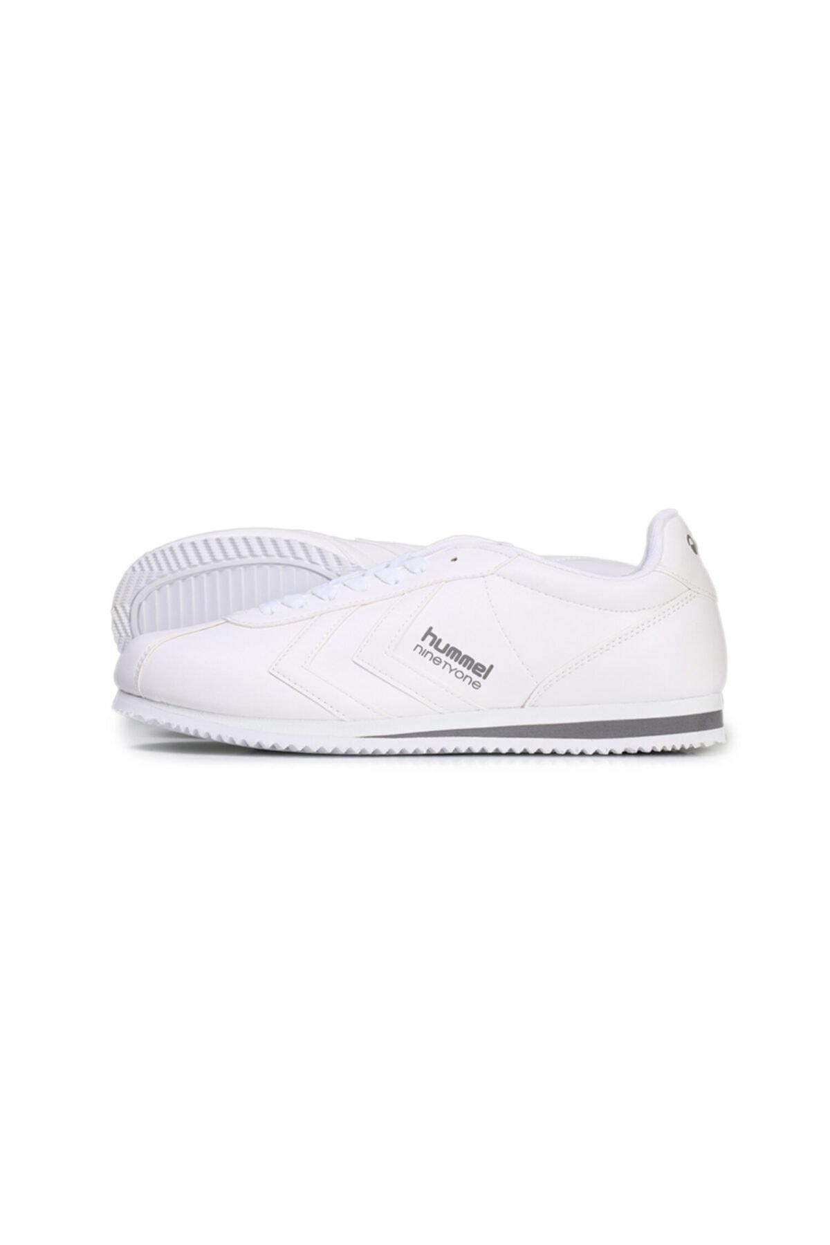 HUMMEL Unisex Beyaz Ninetyone Spor Ayakkabı 204152-9001 1
