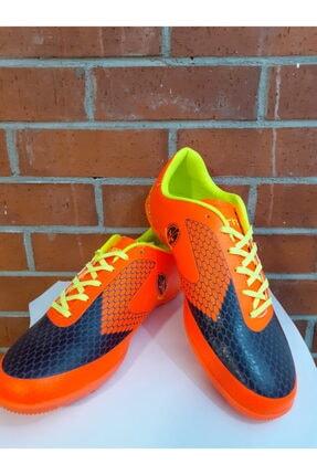 Lescon Unisex Orjinal Halısaha Ayakkabısı/krampon Turuncu Siyah Titan001