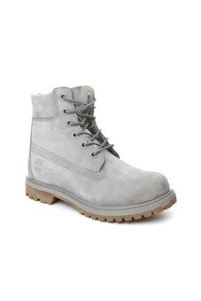 Timberland 6ın Premıum Boot - W Gri Kadın Bot