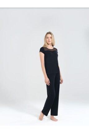 Blackspade Kadın Pijama Takımı 50163-siyah