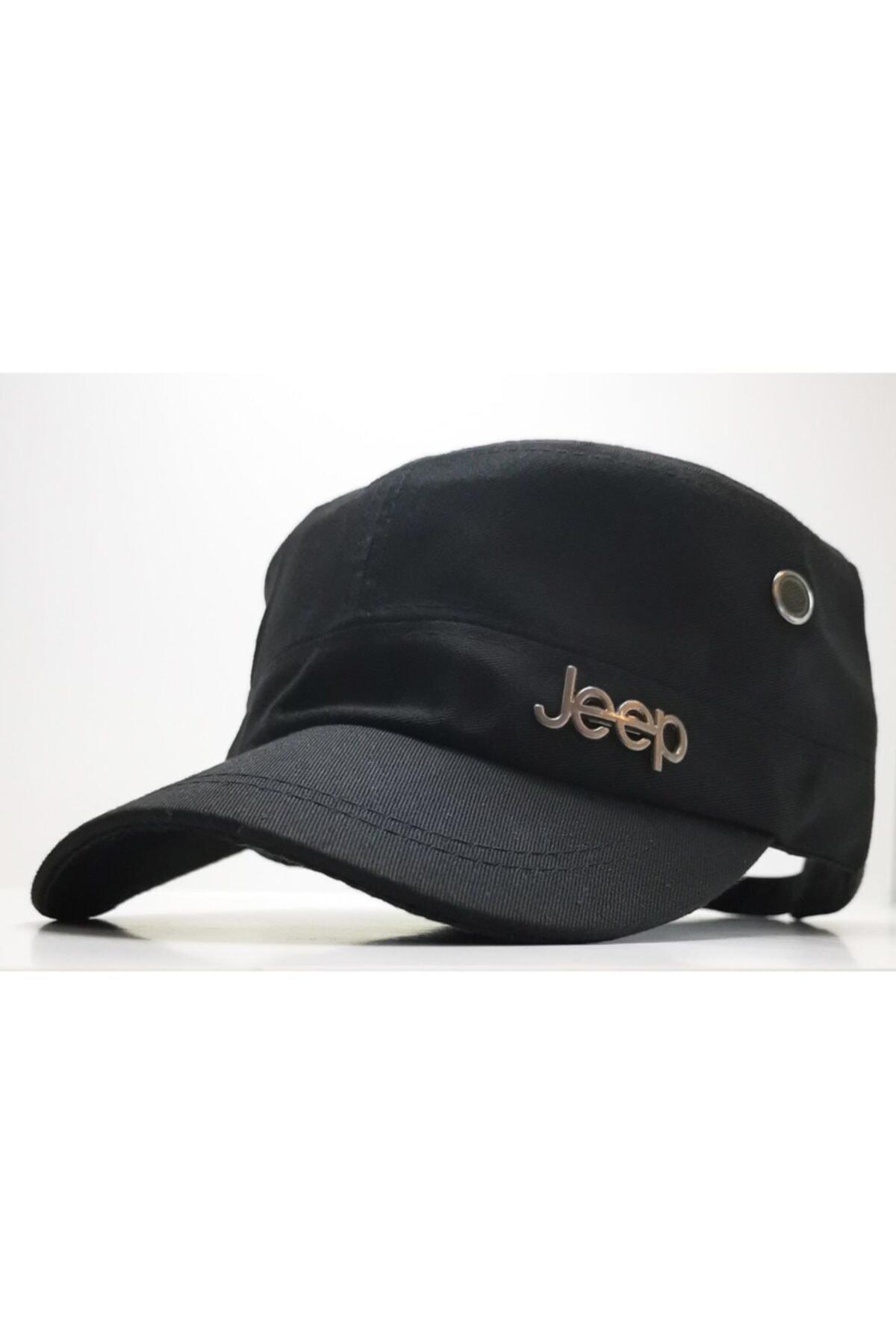 DMONA Jeep Castro Tarzı Siyah Şapka 1