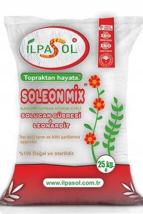 ilpasol Organik Soleonmix Solucan Gübresi Leonardit Karışmlı Toz Gübre 25kg