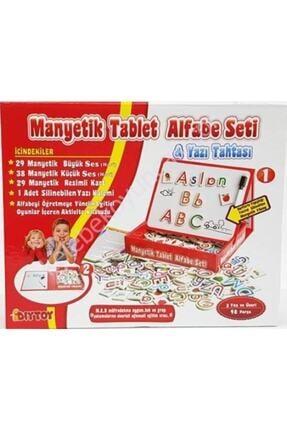 DIYTOY Alfabe Seti Manyetik Mıknatıslı Tablet Yazı Tahtası
