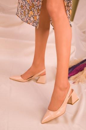 SOHO Ten Mat Rugan Kadın Klasik Topuklu Ayakkabı 16142