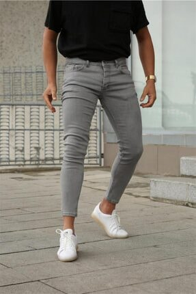 Terapi Men Erkek Slim Fit Jean Kot Pantolon 21k-2100481-01 Gri