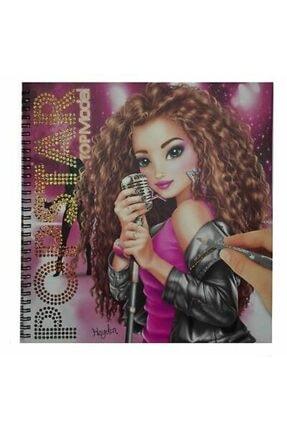 Top Model Popstar Boyama Kitabı
