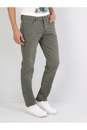 Colin's Straight Fit Düz Paça Yüksek Bel 044 Karl Beyaz Erkek Pantolon