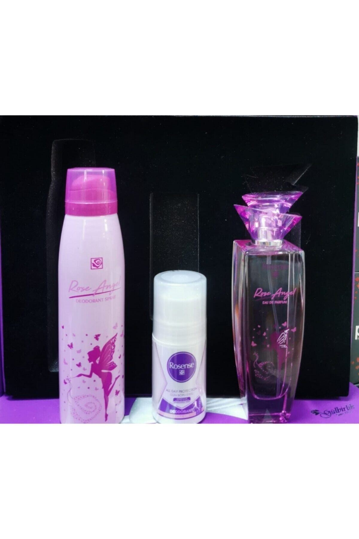 Rosense 4'lü Parfüm Deodorant Roll On Set 2