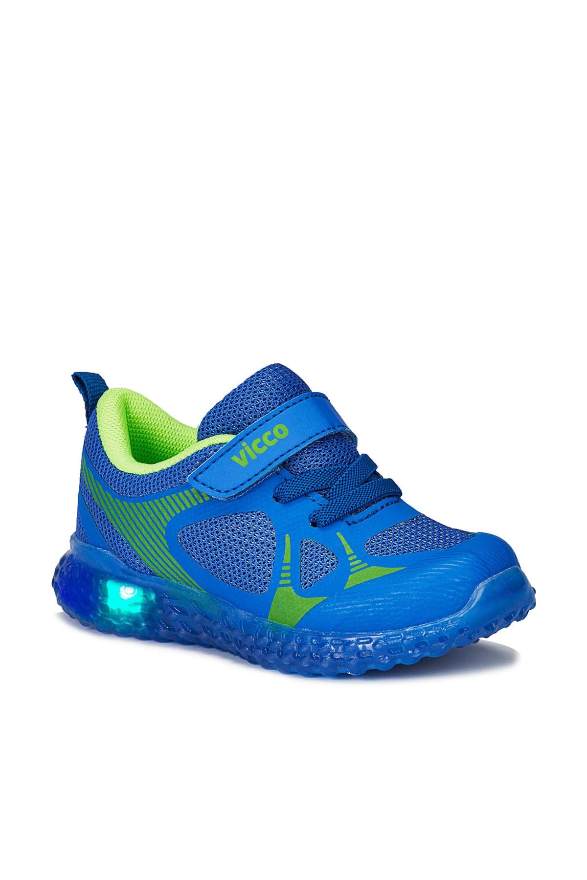 Vicco Figo Erkek Bebe Saks Mavi Spor Ayakkabı 1