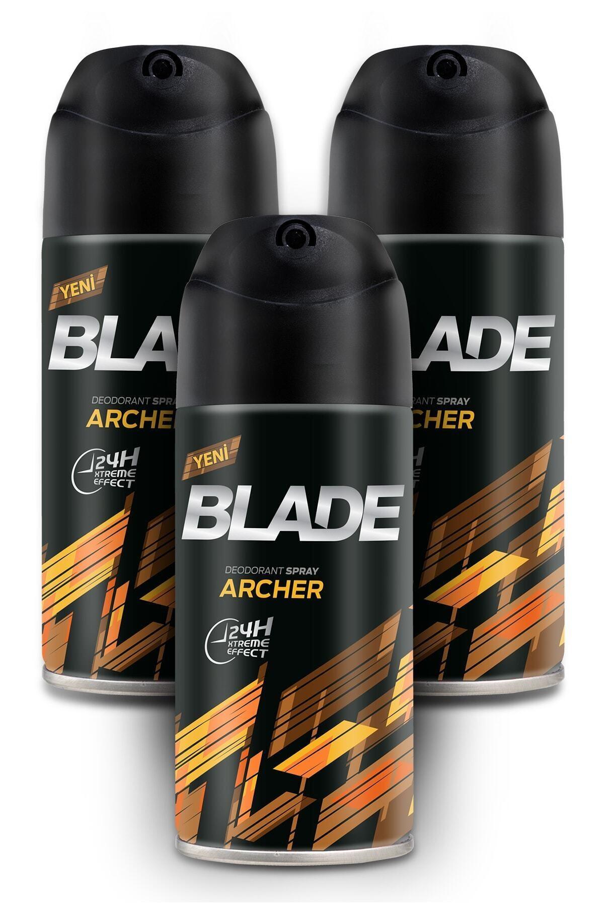 Blade Archer Erkek Deodorant 3x150ml 1