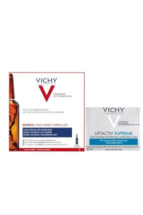 Vichy Vıchy Glyco-c Leke Karşıtı 10 Ampul + Vıchy Lıftactıv Supreme 50 Ml