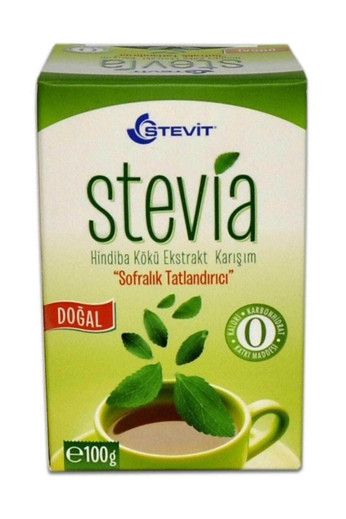 Balen Stevia Hindiba Kökü Ekstrakt Karışım Tatlandırıcı Toz 100g 1