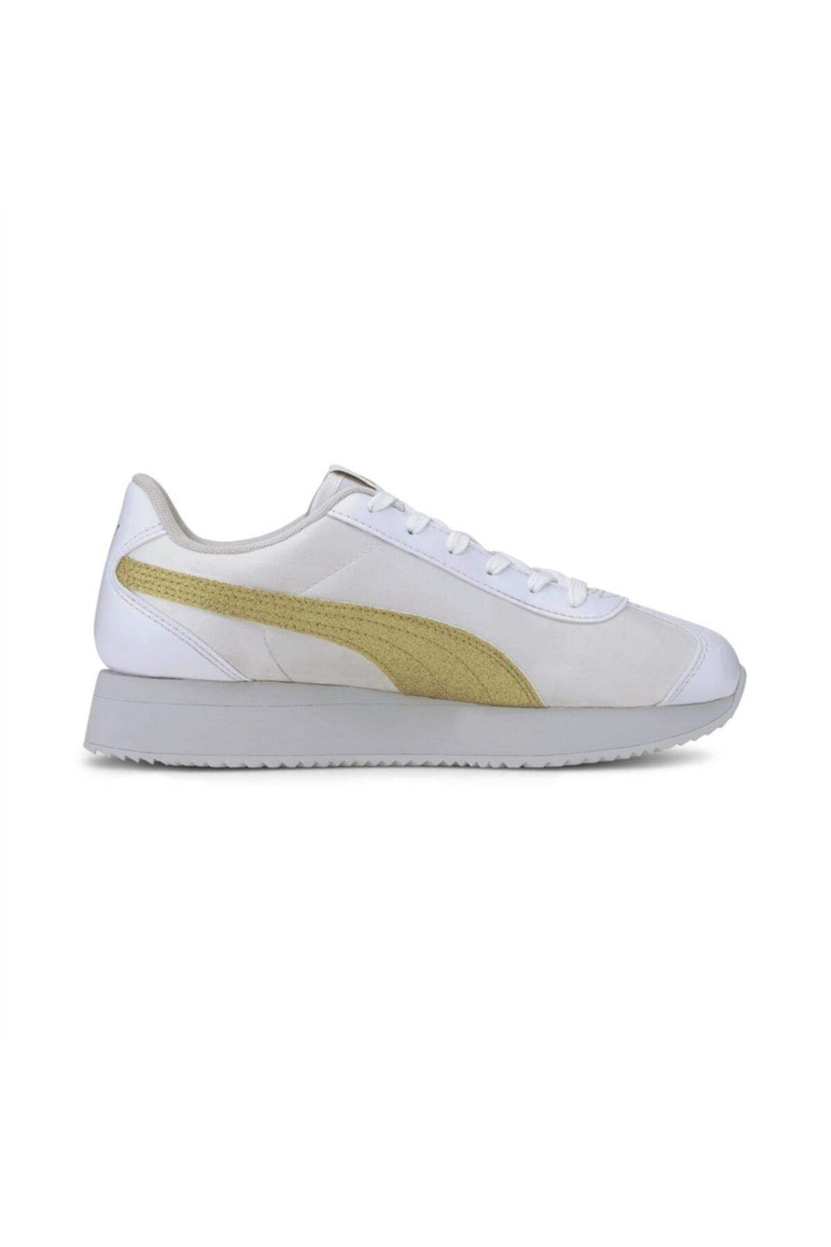 Puma Turino Stacked Glitter P Kadın Günlük Ayakkabı - 37194406 2