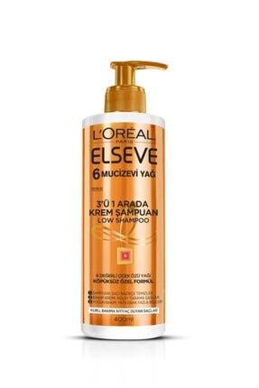 ELSEVE Mucizevi Yağ 3'ü 1 Arada Low Shampoo Krem Şampuan