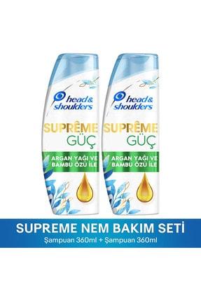 Head&Shoulders Head & ShouldersSupremeGüç Argan Yağı ve Bambu Özü Şampuan 360 ml*2