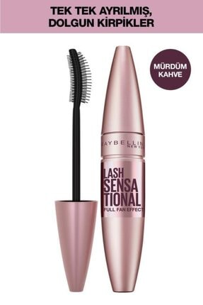 Maybelline New York Lash Sensational Maskara - Burgundy Brown