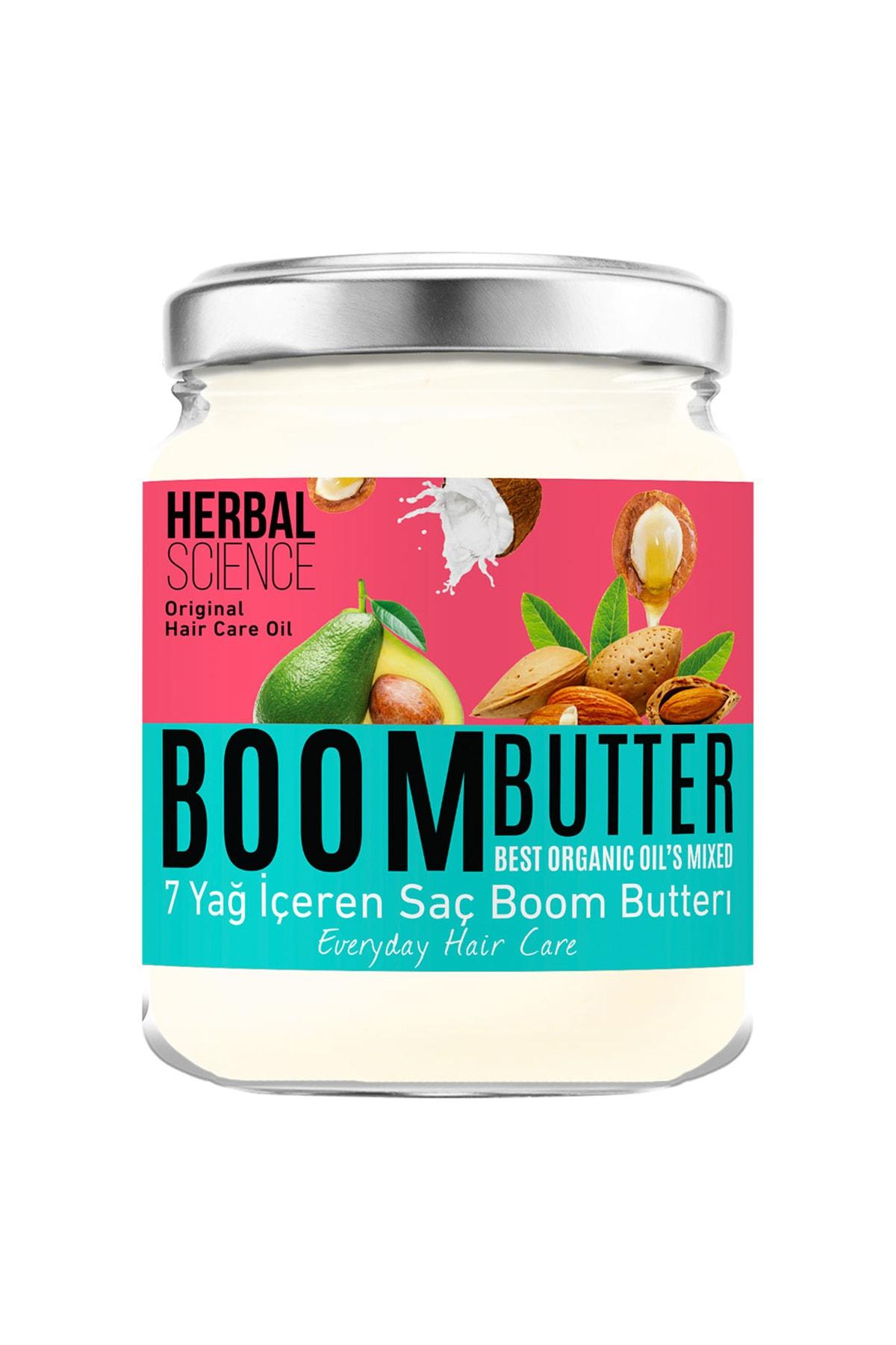Herbal Science Boom Butter Saç Bakım Yağı 190 ml 1