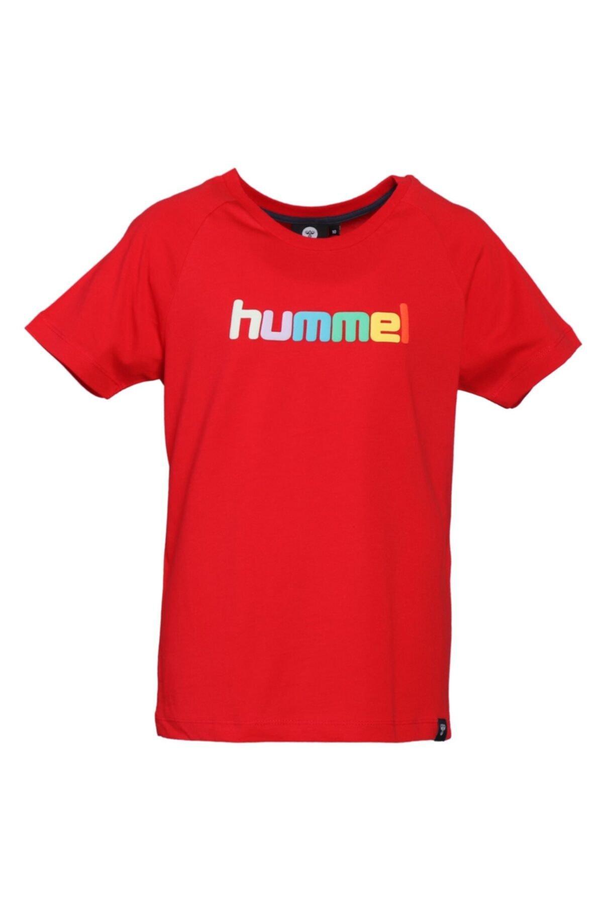 HUMMEL Çocuk Kırmızı T-shirt 1