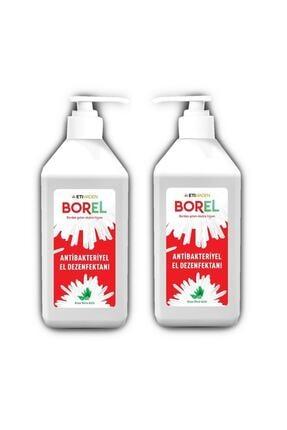 Borel Antibakteriyel Pompalı El Dezenfektanı 1 Lt 2 Adet