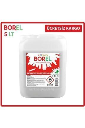 Borel Etimaden Alkol Bazlı Antibakteriyel El Dezenfektanı 5 Lt