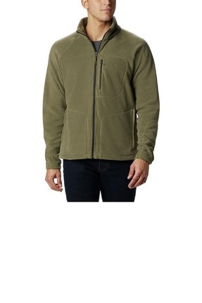 Columbia Fast Trek II Full Zip Fleece Erkek Yeşil Outdoor Polar AE3039-397