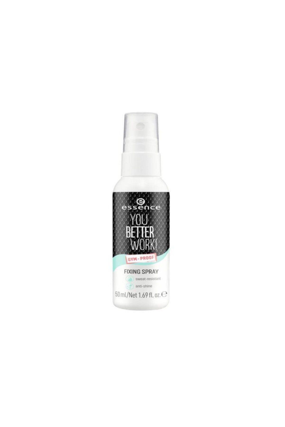 Essence Makyaj Sabitleyici Sprey You Better Work Fixing Spray 50 ml 1