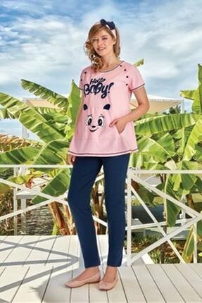 Berrak Kadın Pembe Hamile Pijama Takımı 305