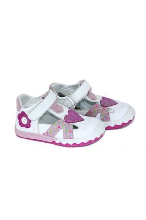 Vicco Kız Bebek Hakiki Deri Ortepedik Rahat Cırtlı Ayakkabı 910061