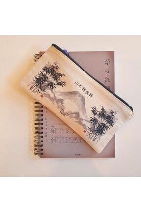 BUCETİ Çince Kanvas Kalemlik 1703