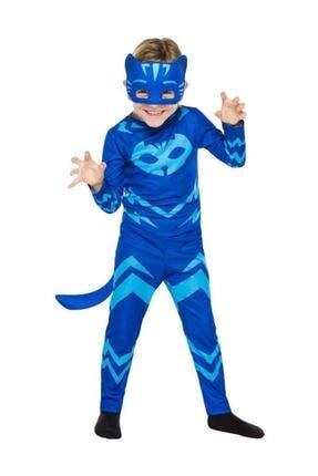 Tpm Maskeli Kedi Çocuk Kostümü - Pijamaskeliler Kostümü