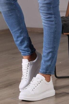 Madmext Erkek Beyaz Sneaker Ms041