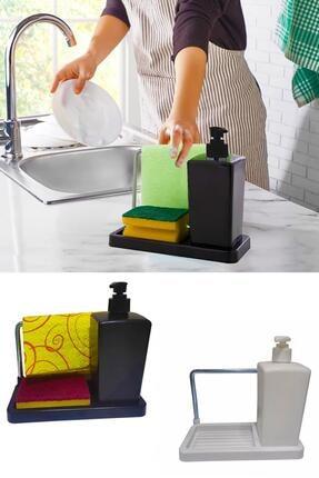 Helen's Home Bulaşık Süngeri Hazneli Sıvı Sabunluk Askılı Deterjanlık