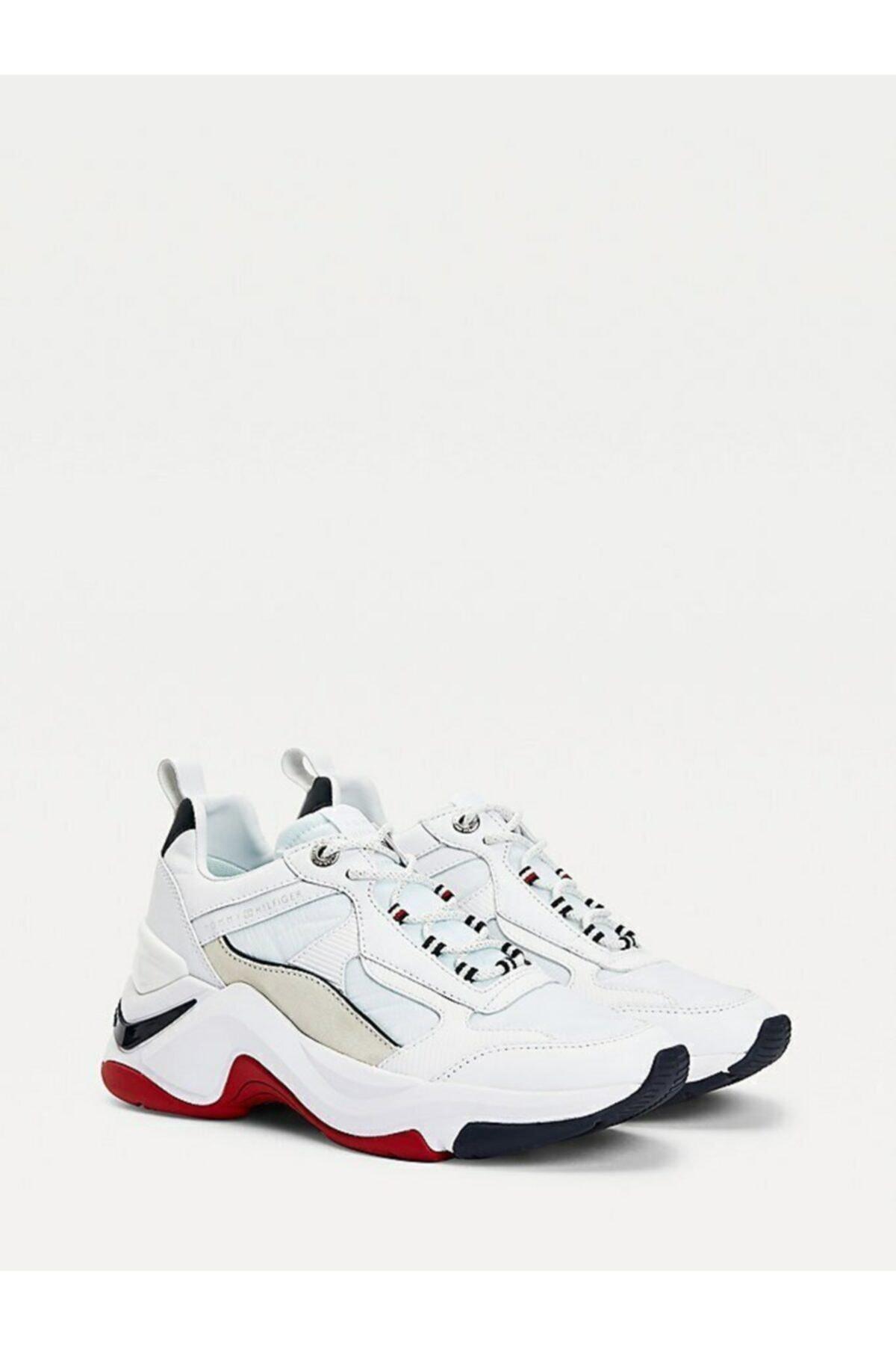 Tommy Hilfiger Fashıon Dolgu Topuklu Sneaker 1